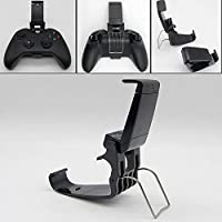 ONEWELLユニバーサル電話マウントブラケットゲームパッドコントローラークリップ、Xboxハンドル用スタンドホルダー付き