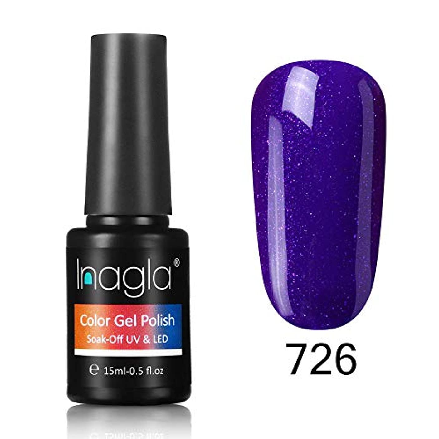 高める典型的な経由でInagla ジェルネイル カラージェル 1色入り 15ml-GNS726