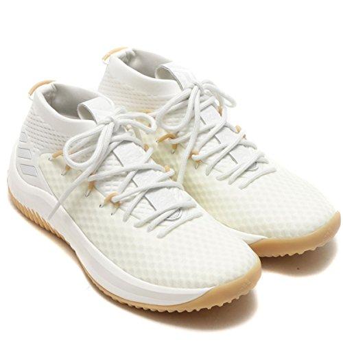 日本国内正規品 アディダス adidas ダミアン・リラード 4 [D Lillard 4] ホワイト/ホワイト/ガム 27.5cm BY4496