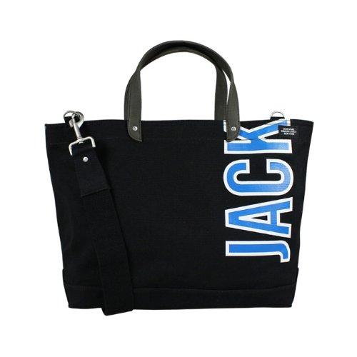 (ジャック スペード) JACK SPADE 2WAY トートバッグ [ブラック] W9RU0038 001 COAL BAG キャンバス メンズ レディースBLACK BLACK (並行輸入品)