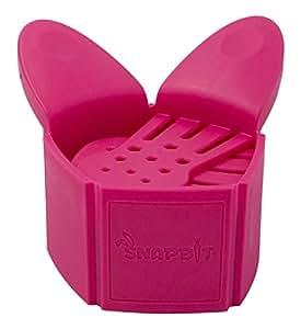 【正規輸入品】EXELUX スナップビット ピンク 湯切り 水切り 直径15~6cmの鍋対応 DAKSNB-PK