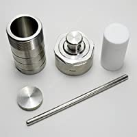 Deschem 50mL ステンレス 解消装置 水熱合成消化缶 高圧反応器 PTFE裏地