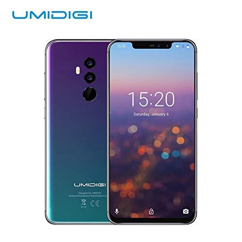UMIDIGI Z2 SE 6.2インチ SIMフリースマートフォン P23クアッドコア Android 8.1搭載 19:9アスベスト比率ディスプレイ 16MP + 8MPクアッドカメラ 6GB ROM+4GBRAM 18W快速充電 顔ID認証+指紋認証 3色選び 日本語対応 日本語説明書付き