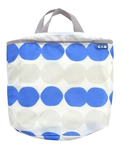コグレ 洗濯ネット ランドリートートバッグS ブルー 1枚 おしゃれ 洗濯ネット 洗濯カゴ