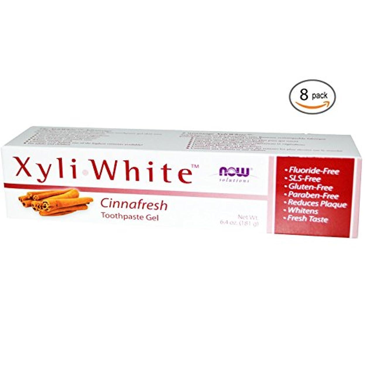 振る舞い信頼性のある祖先キシリホワイト 歯磨き粉 Cinnafresh  182g 5個パック