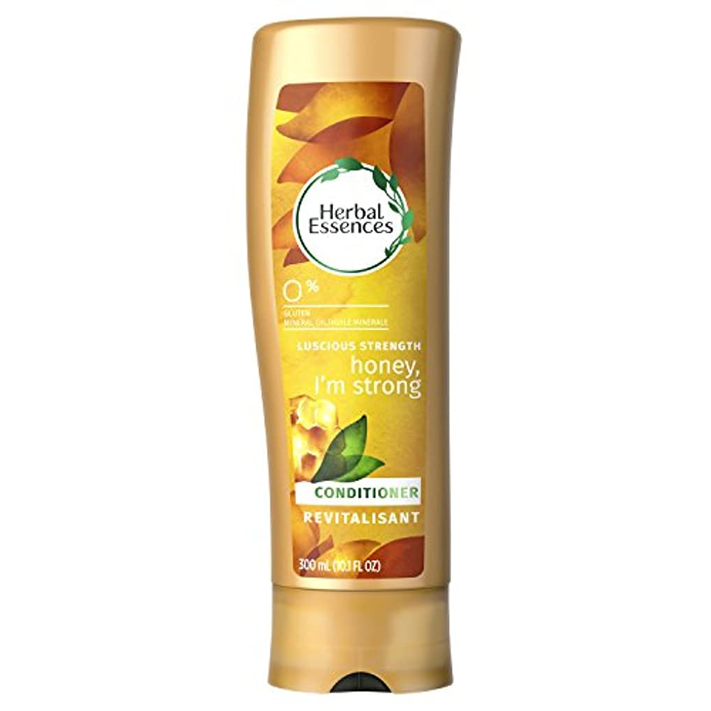 あまりにも原油政府Herbal Essences Honey I'm Strong Strengthening Conditioner, 10.1 Fluid Ounce by Procter & Gamble - HABA Hub [並行輸入品]