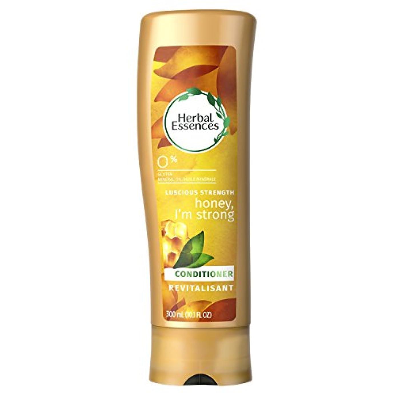 単調なわずらわしい動揺させるHerbal Essences Honey I'm Strong Strengthening Conditioner, 10.1 Fluid Ounce by Procter & Gamble - HABA Hub [並行輸入品]