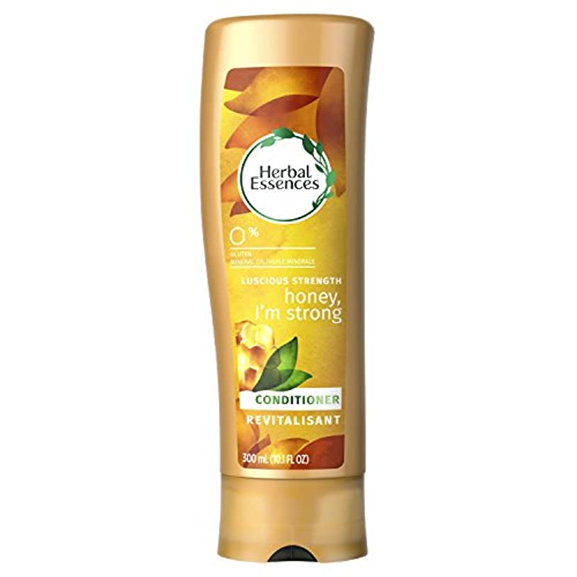 できる幻滅する買い物に行くHerbal Essences Honey I'm Strong Strengthening Conditioner, 10.1 Fluid Ounce by Procter & Gamble - HABA Hub [並行輸入品]
