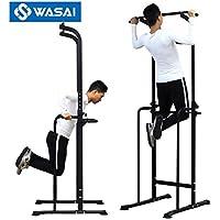 WASAI(ワサイ) ぶら下がり健康器 改良強化版 懸垂マシン ぶらさがり トレーニングマシン チンニングスタンド 背筋運動 マルチジム MK518N