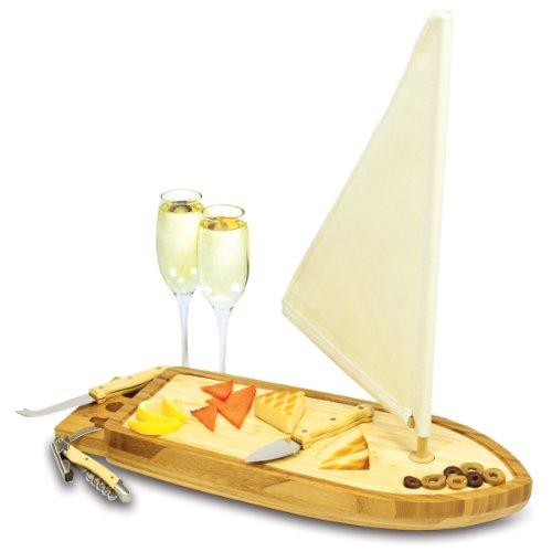 木製チーズボード 兼 カッティングボードとしても使える/チーズナイフセット付
