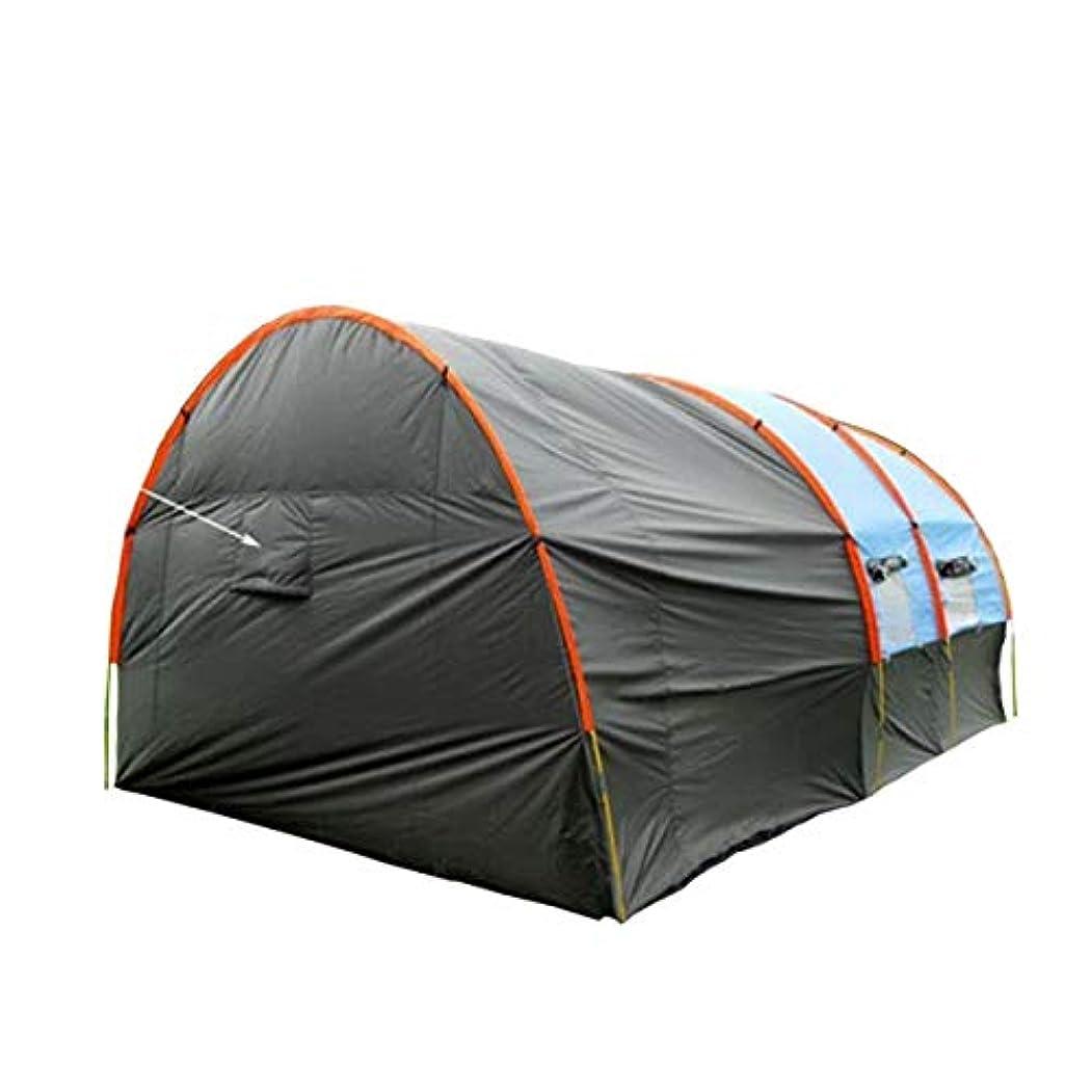 赤ちゃんが欲しい打撃新しい大規模チームテント多人数8-10人1部屋2ホールキャンプグループ集団キャンプテントトンネルテント