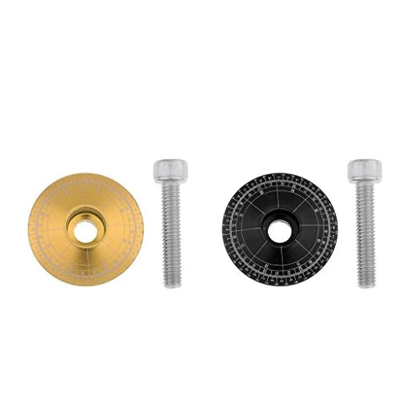 骨の折れるわずかな半円Perfeclan ボウルカバー 4個 アルミ合金製 マウンテンロードバイク ステムトップキャップカバー ヘッドセットネジ