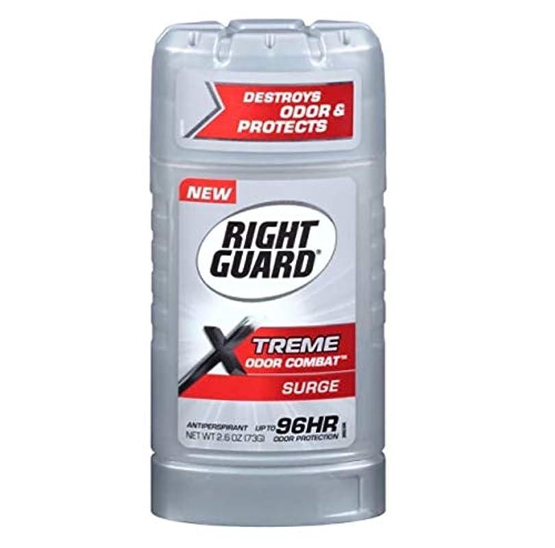 命令コモランマコットンRight Guard Xtreme Odor Combat Surge Invisible Solid Antiperspirant and Deodorant - 2.6oz 海外直送品 [並行輸入品]
