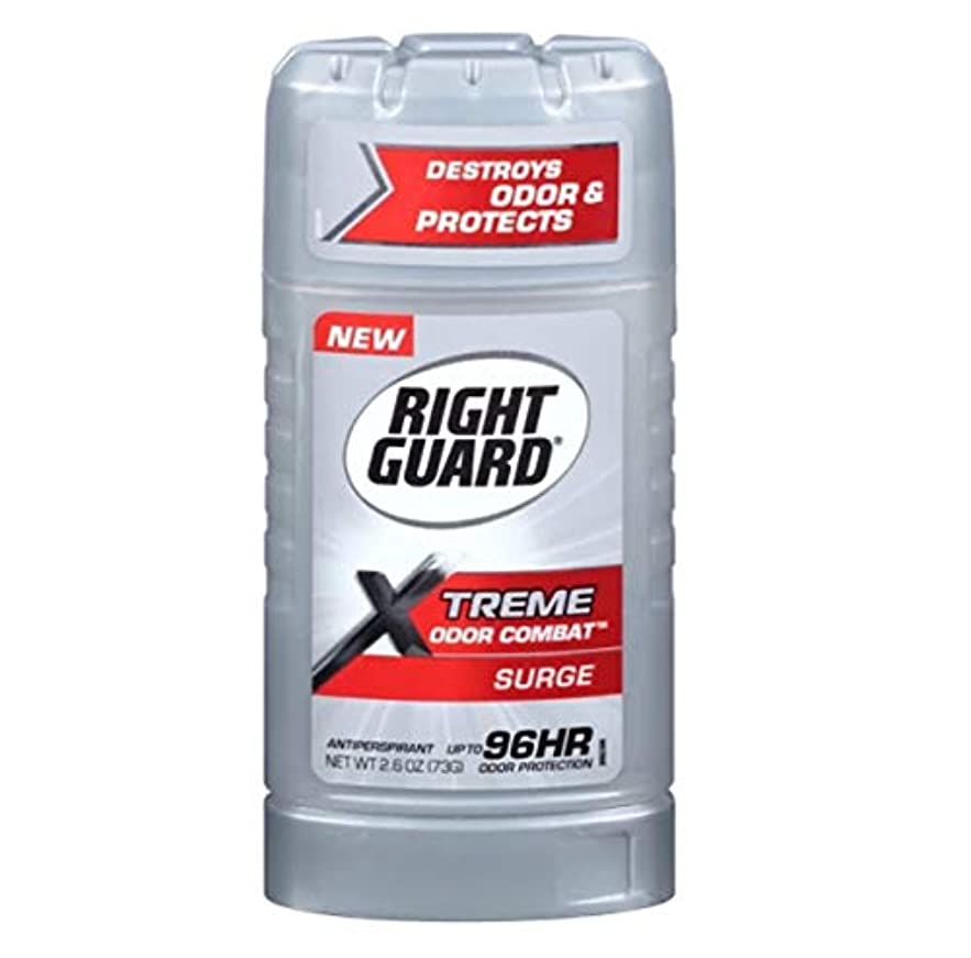 露出度の高い見えるこだわりRight Guard Xtreme Odor Combat Surge Invisible Solid Antiperspirant and Deodorant - 2.6oz 海外直送品 [並行輸入品]