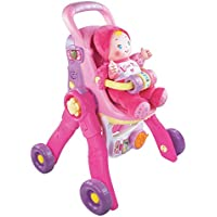 VTech Baby Amaze 3-in-1 Care and Learn Stroller [並行輸入品]