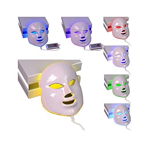 新型 7色LEDマスク 光エステ LED美顏 マスク 7色光IPL フォトマス 家庭用LED美顔器