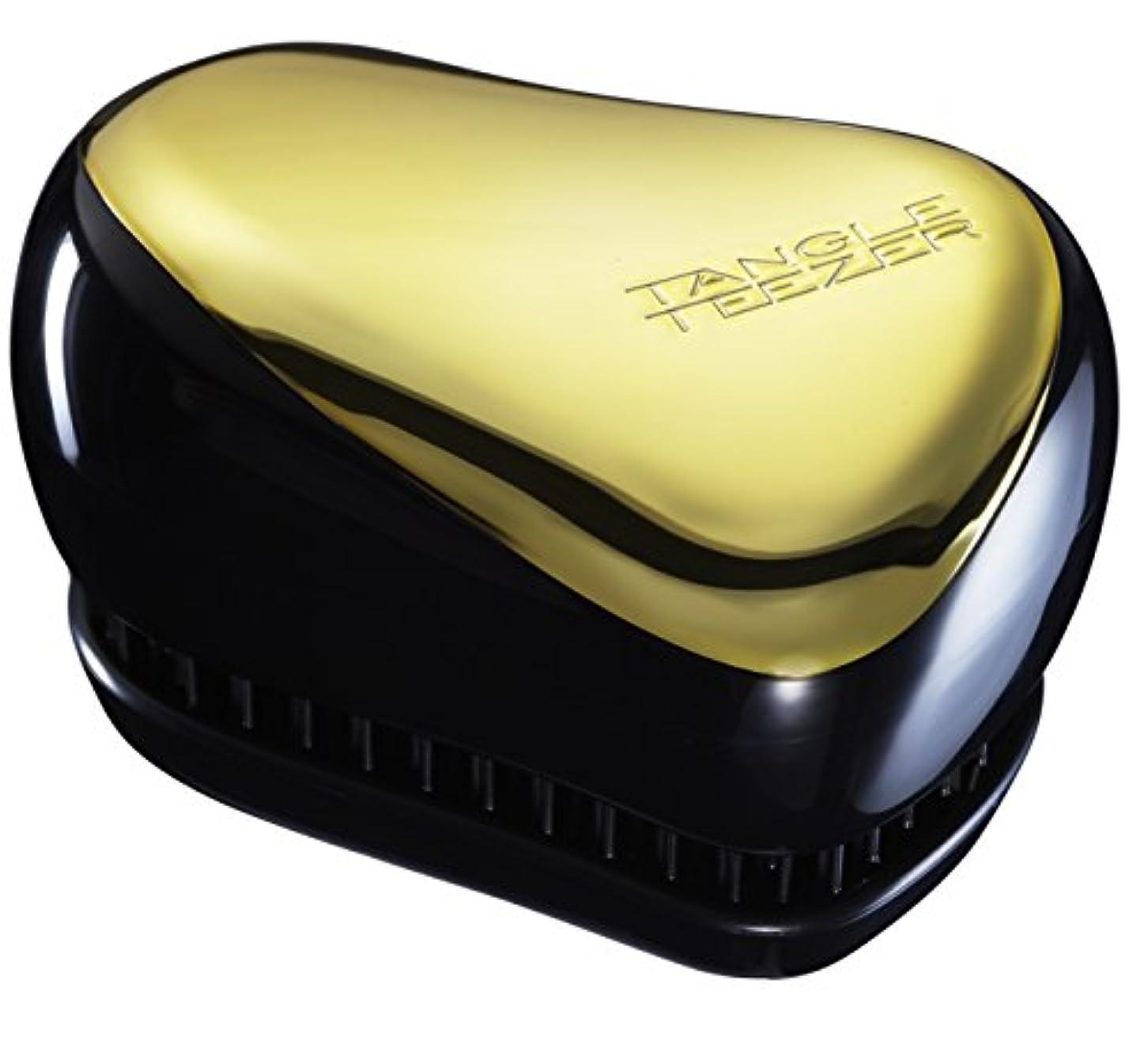 柱見捨てる公爵夫人TangleTeezer TANGLE TEEZER タングルティーザー コンパクトスタイラー [国内正規品] ヘアブラシ ゴールドラッシュ 約W68×H90×D50mm