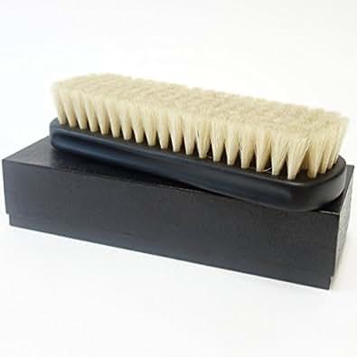 【Boot Black ブートブラック】 シューズブラシ 馬毛(日本製)磨きのプロ達が創り上げた靴ブラシ(江戸屋)