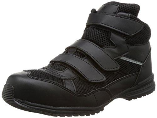 [ミドリ安全] 安全作業靴 JSAA認定 耐滑 ハイカット ハイグリップ プロスニーカー WPT125 ブラック 27 cm 3E