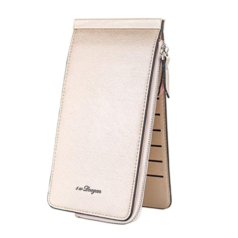 長財布 財布 本革 レディース 人気 安い カードポーチ 大容量 三つ折り 定期入れ コインケース レディース SYIG-2
