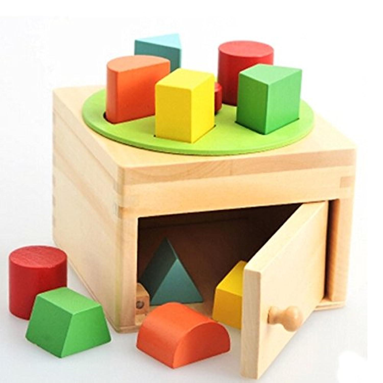 早期教育玩具ジオメトリ認知木製Toys