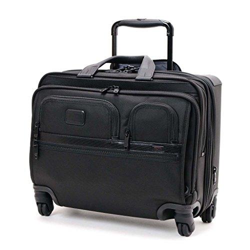 (トゥミ)TUMI 26627D2 ALPHA2 4 Wheeled Deluxe Brief With Laptop Case キャリーケース BLACK ブラック ビジネス 出張 [並行輸入品]