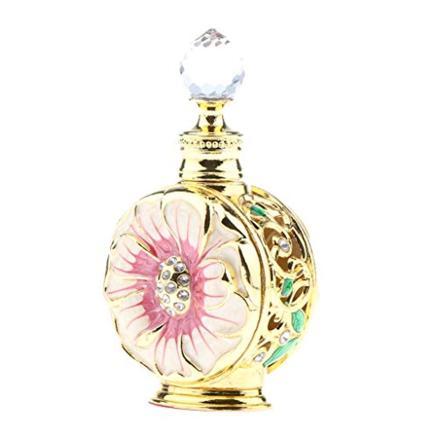 下に向けますとらえどころのないミスペンド香水ボトル 香水瓶 華やか 小分け用 2色選べ - レッドゴールド