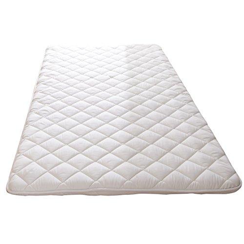 吸湿する1枚で寝られるオールインワン敷布団 カラリフトン シングル