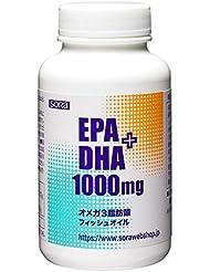 そら EPA+DHA 1000mg (魚のオイル オメガ3 180粒入)