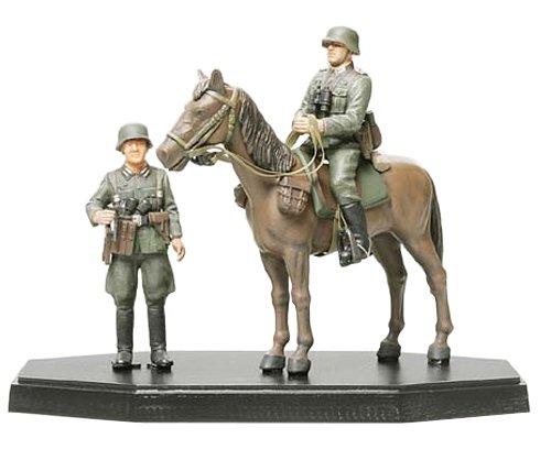 MM フィギュア コレクション 1/35 ドイツ将校乗馬セット( 完成品 )