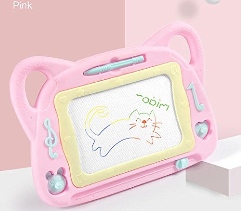 HuaQingPiJu-JP 子供たちのための描画ボード落書き落書きボード消去可能な書き込み絵画スケッチパッド