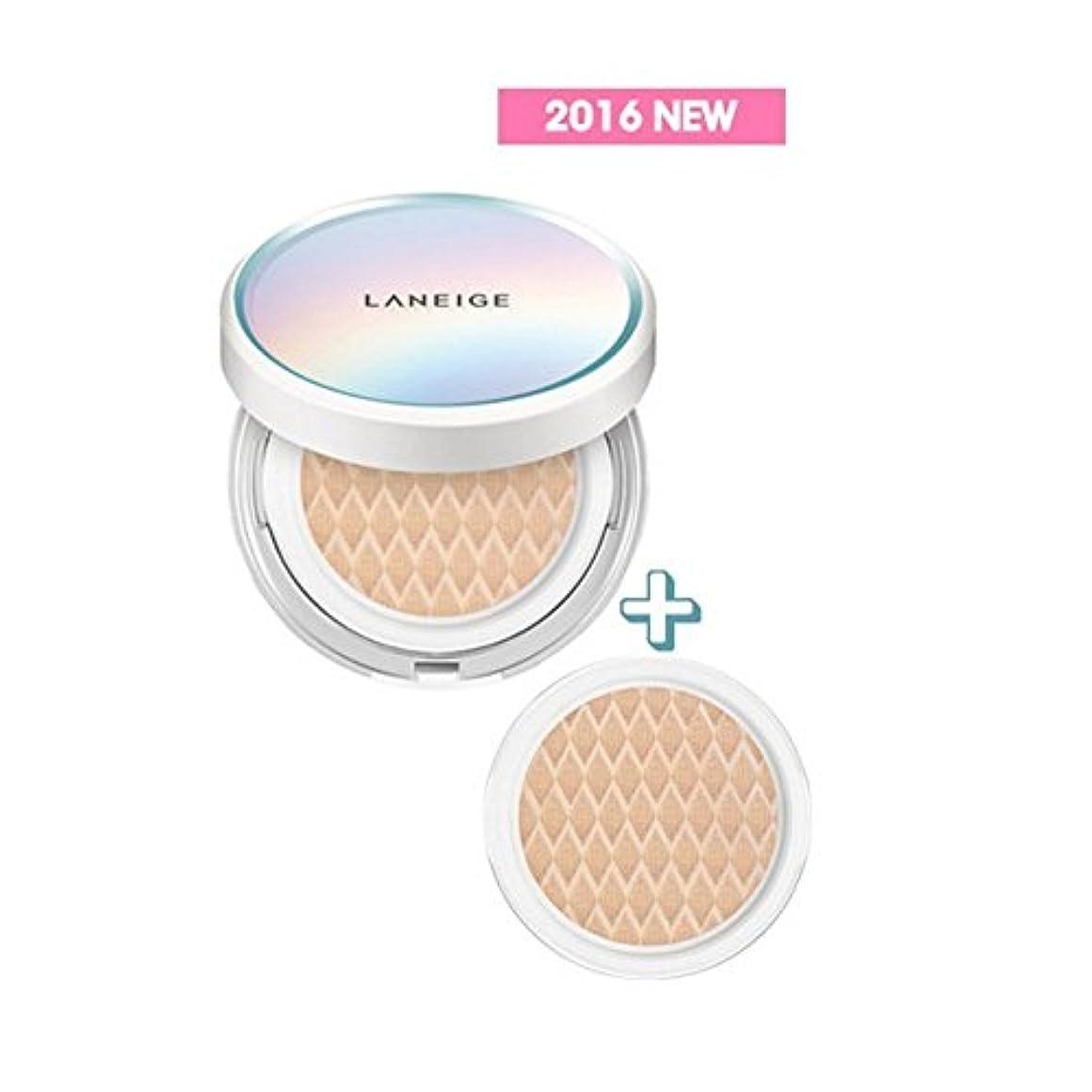 LANEIGE BB Cushion [Pore Control] 15g + Refill 15g/ラネージュ BBクッション [ポアコントロール] 15g + リフィル 15g (#23 Sand) [並行輸入品]