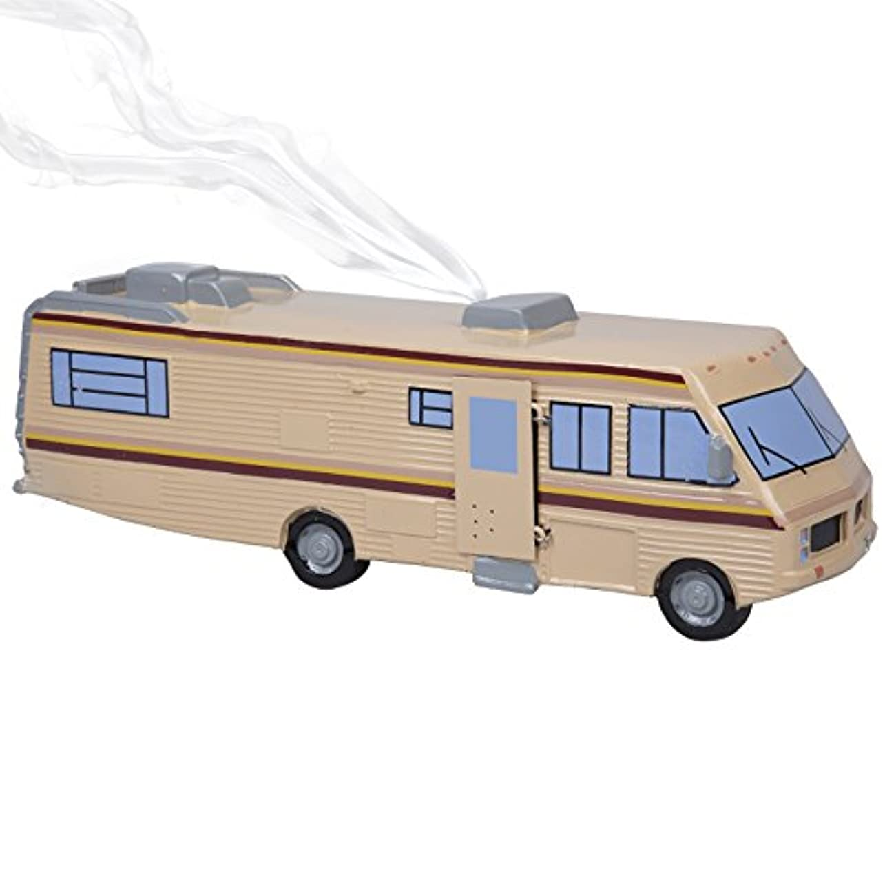 おとうさんオーストラリア人鉄道駅SCS Direct Breaking Bad Incense Burner – 1986 Fleetwood Bounder RVレプリカ – Burn Incense Conesまたはレンガ