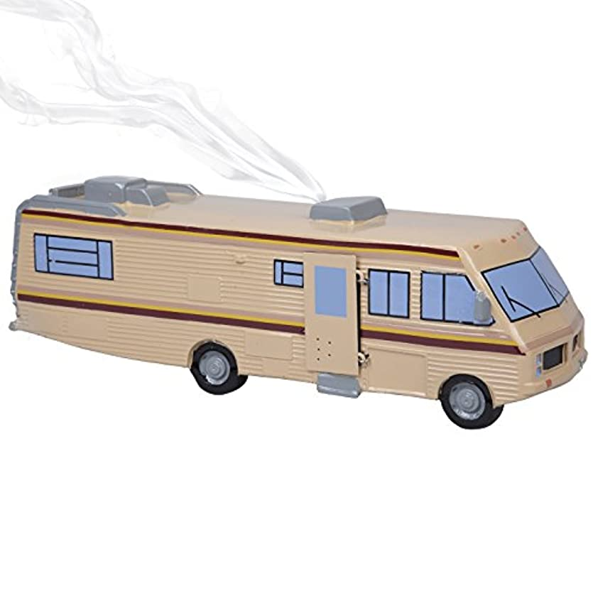 マークタップスピリチュアルSCS Direct Breaking Bad Incense Burner – 1986 Fleetwood Bounder RVレプリカ – Burn Incense Conesまたはレンガ