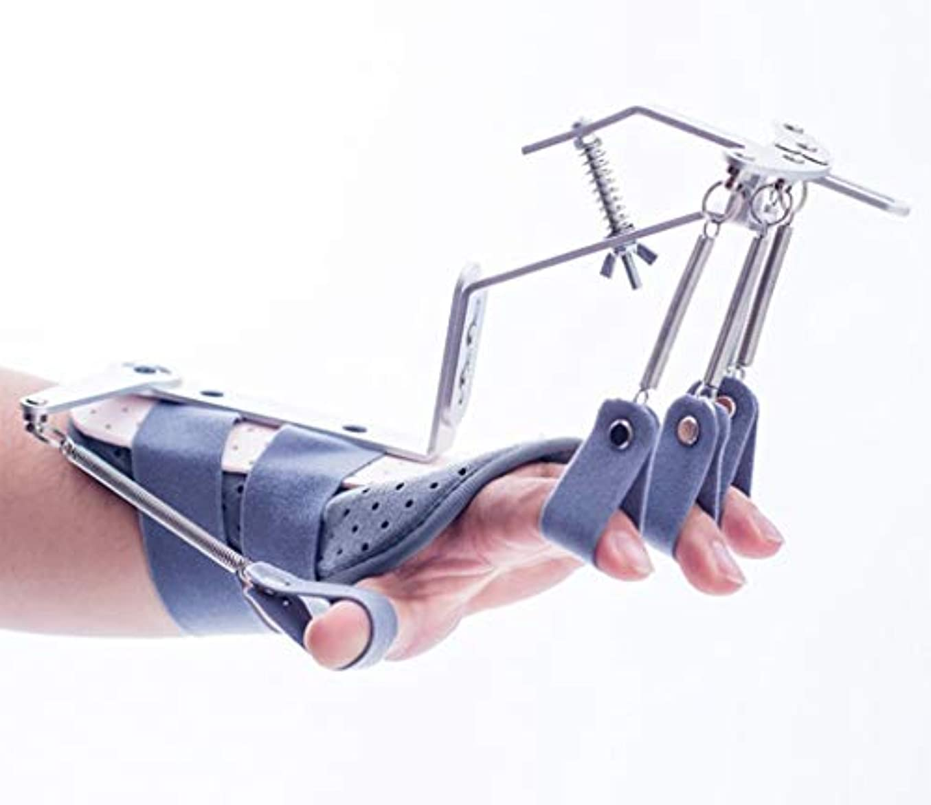 教室早くまっすぐ手指装具 フィンガーエクササイザー機器 適切な 脳梗塞の場合 血栓症脳卒中部 片麻痺保護