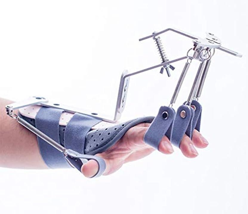 ホールド電化する黄ばむ手指装具 フィンガーエクササイザー機器 適切な 脳梗塞の場合 血栓症脳卒中部 片麻痺保護
