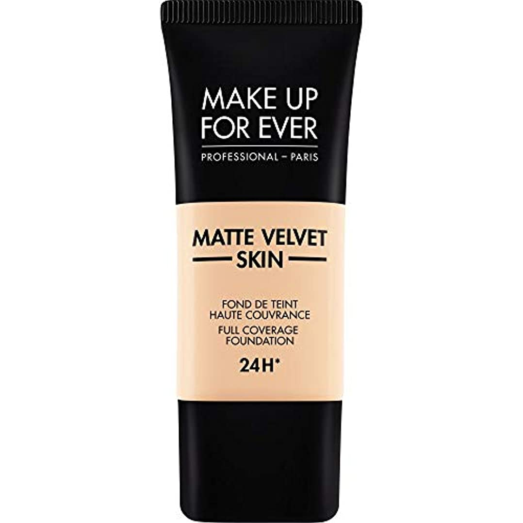 頑張る盟主リーチ[MAKE UP FOR EVER] これまでマットベルベットの皮膚のフルカバレッジ基礎30ミリリットルのR230を補う - アイボリー - MAKE UP FOR EVER Matte Velvet Skin Full...