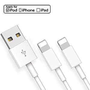 純正 iPhone充電ケーブル 急速充電 ライトニングUSBケーブル 高速データ転送 1M iPhone 11Pro MAX/11Pro/11/XS MAX/XS/XR/X/8/7/6/6s/5/SE/5s/iPad/iPod 対応