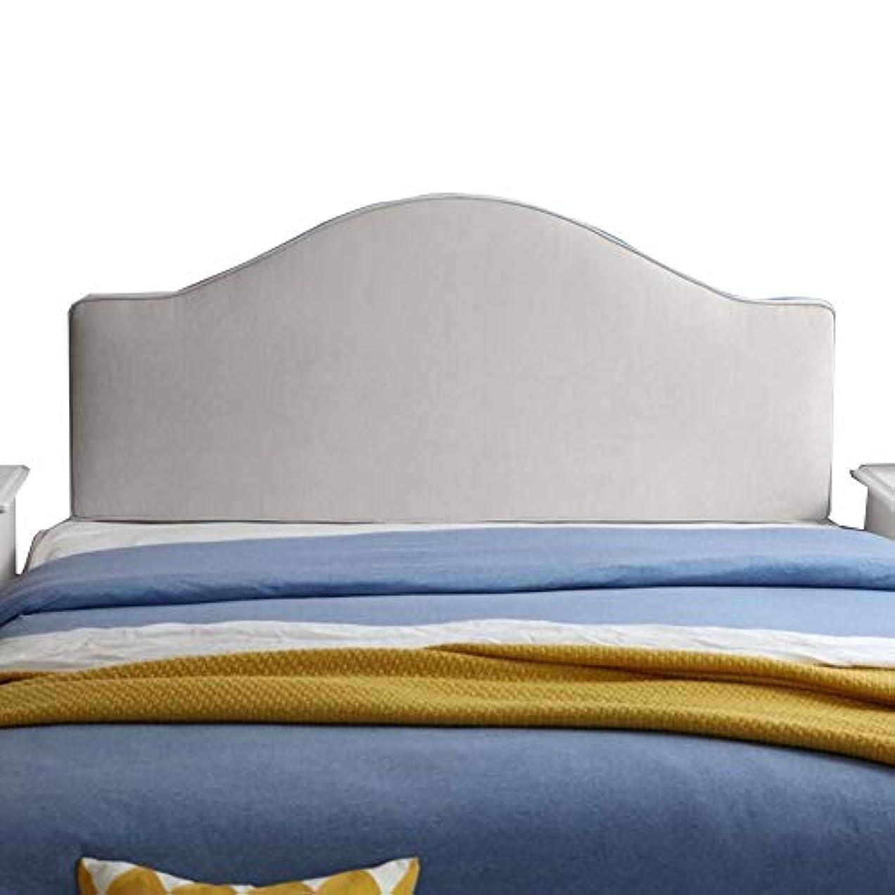 古くなったポルノ事前にLIANGLIANG クションベッドの背もたれ快適な読書ベッドのヘッドレスト特大のふわふわ背もたれ洗える布、6色、13サイズ (色 : 白, サイズ さいず : 160x65x8cm)