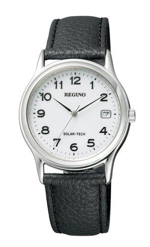 腕時計 REGUNO レグノ ソーラーテック スタンダードモデル RS25-0033B メンズ シチズン