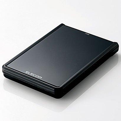 エレコム ELP-YED010UBK(-) ELP-YEDUシリーズ 外付けHDD 1TB USB3.0/2.0接続