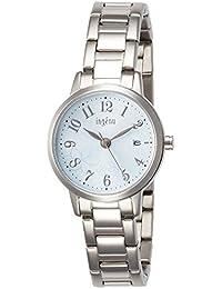 [アンジェーヌ]ingenu 腕時計 ingenu ジャスミン模様 水色文字盤 AHJK441 レディース