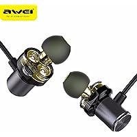 AWEI X650BL 防水 高音質ワイヤレスイヤホン【CVCノイズキャンセリング / IPX5防水 / Bluetooth4.2 / マイク、マグネット搭載 / 7時間連続再生】