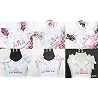 Easter Egg Bunny Rabbit White Tank Pettitop Shirt Optional Bow & Ruffles 1-8Year