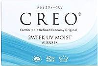 クレオ 2ウィークUVモイスト 6枚 1箱 (1日使い捨て コンタクトレンズ )【BC】8.7 【PWR】-4.75