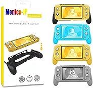 Monica-JP グリップ ニンテンドー スイッチライトに対応グリップカバー 装着簡単 安定性 ゲーム 衝撃吸収 保護カバー ソフトケース Nintendo Switch Lite用のグリップカバー (グレー)
