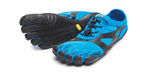 vibram fivefingers ビブラム ファイブフィンガーズ Men's 16M0701 Blue/Black (M44(28.7cm), Blue/Black)