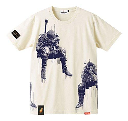 ダークソウル × TORCH TORCH/ 心折れた戦士たちのTシャツ: ニートホワイト(ナチュラル) Mサイズの詳細を見る
