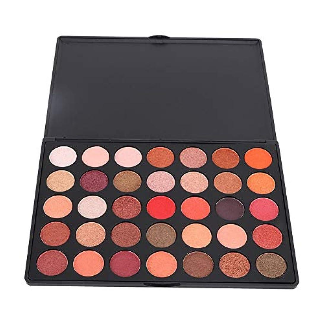 アイシャドウパレット アイシャドウパレット 35色 化粧品ツール 化粧マット グロス アイシャドウパウダー