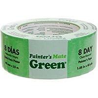 """Painter 's Mateマスキングテープ1.88"""" X 60ヤードグリーン"""